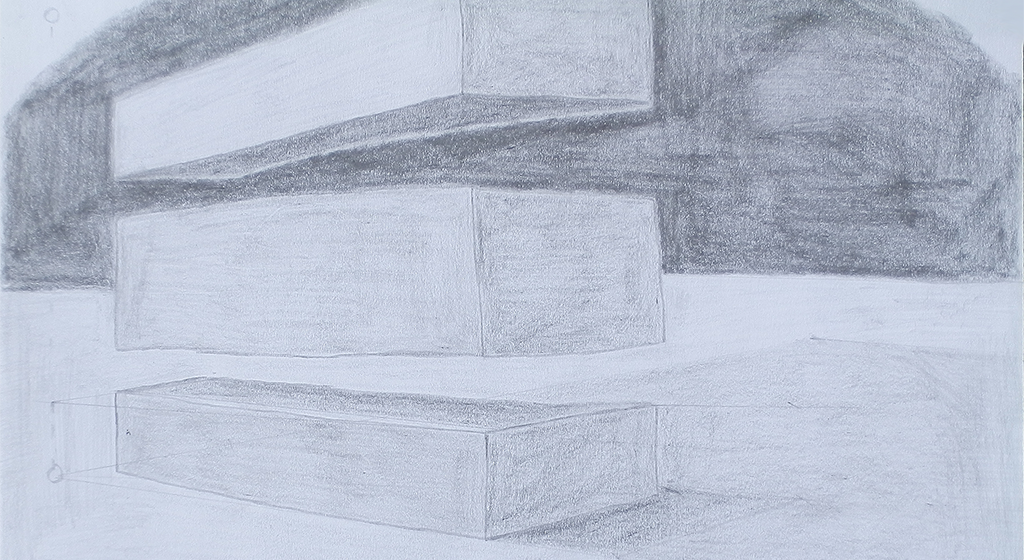 Pencil drawn boxes