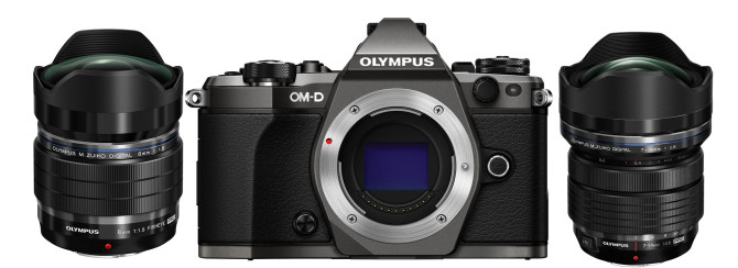 Olympus OM-D E-M5 Mark II Limited Titanium Edition