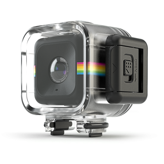 Polaroid Cube in waterproof case