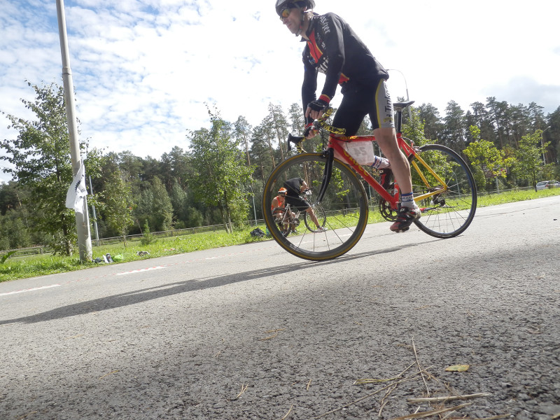 Bicycles competitions VeloDRAG 2015 3rd stage