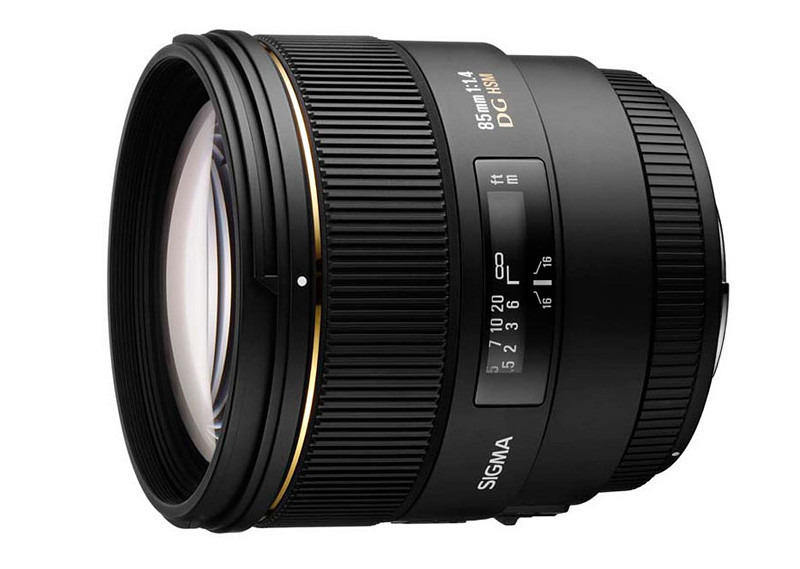 Telephoto objective lens Sigma 85mm F1.4 EX DG HSM