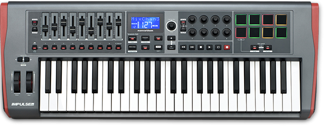 MIDI keyboard Novation Impulse 49