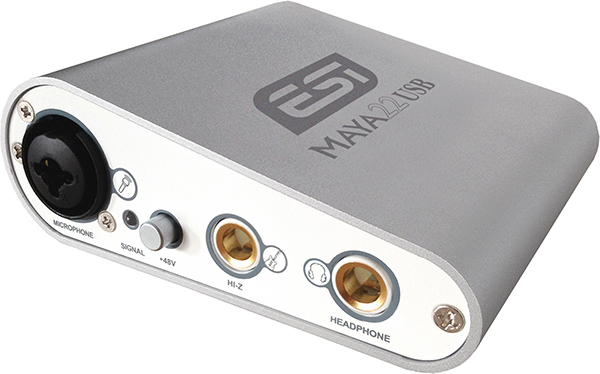 External sound card ESI MAYA22 USB
