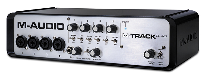 External sound card M-Audio M-Track Quad