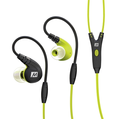 Compact in-ear headphones MEE audio M7P Secure-Fit Sports