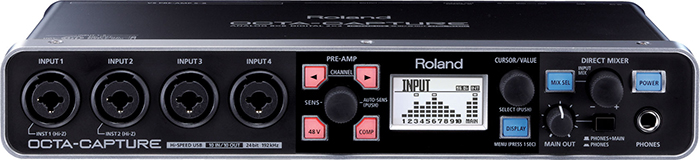 External sound card Roland OCTA-CAPTURE