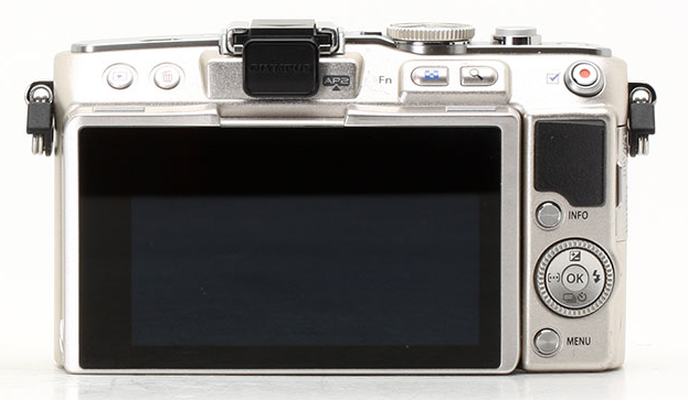 Photo-camera Olympus PEN E-PL5 ( back view )