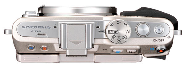 Photo-camera Olympus PEN E-PL5 ( top view )