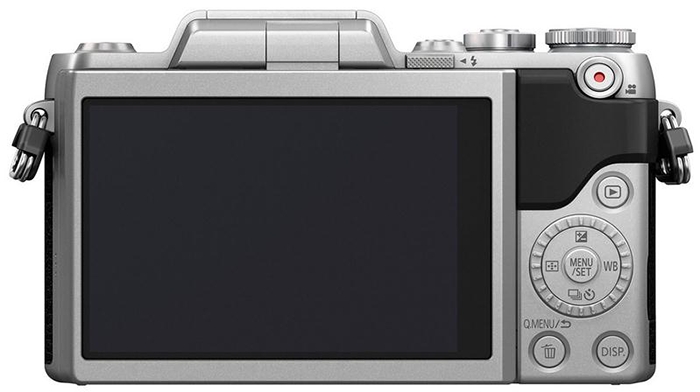 Photo camera Panasonic Lumix DMC GF7 ( back view )