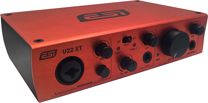 USB audio interface ESI U22XT