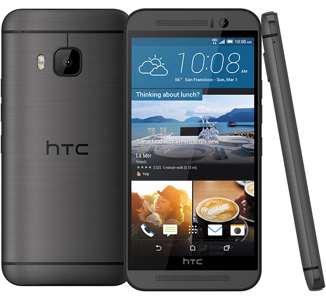 Smartphone HTC One M9s ( black color variant )