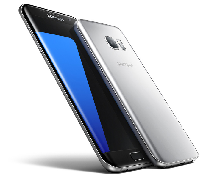 Smartphones Samsung Galaxy S7 and S7 Edge