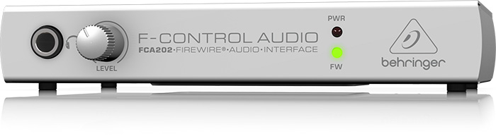 Firewire audio interface Behringer F-CONTROL AUDIO FCA202