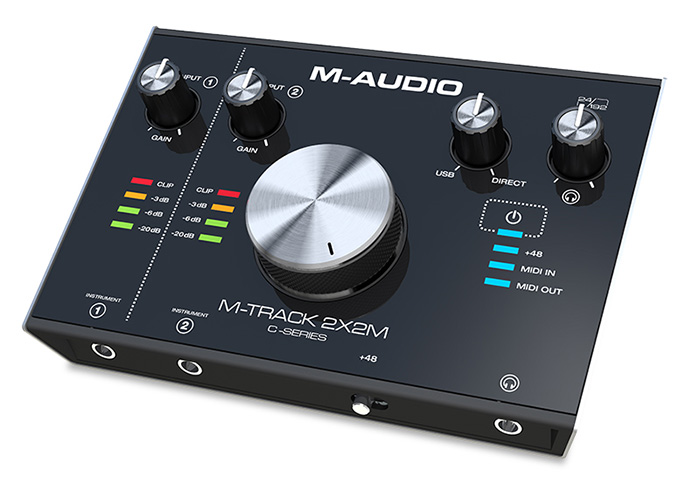 USB audio interface M-Audio M-Track 2X2M