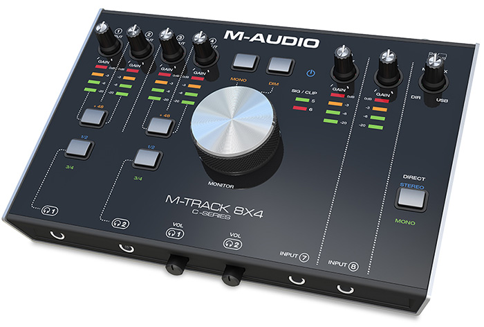 USB audio interface M-Audio M-Track 8x4