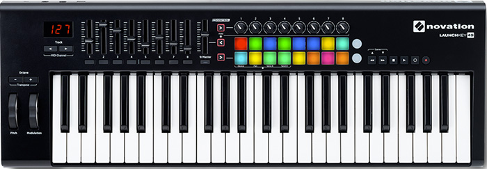 MIDI keyboard Novation Launchkey 49