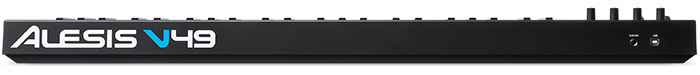USB MIDI keyboard Alesis V49 ( back panel )