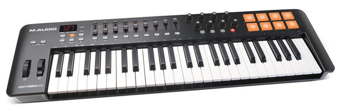 USB MIDI keyboard M-Audio Oxygen 49 MK IV