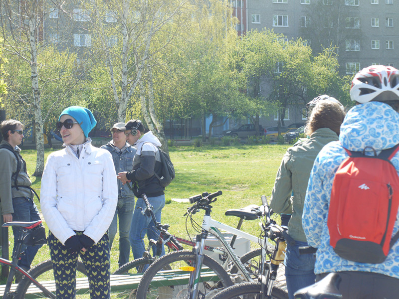 One of the south-west parks of city, excursion in the parks of Yekaterinburg, organized by Sportek shop