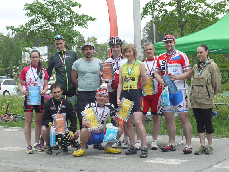 Group photo, Velo Drag Racing 2016 Stage I competitions, Yekaterinburg