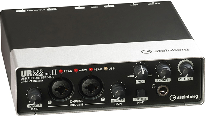 USB audio interface Steinberg UR22mkII