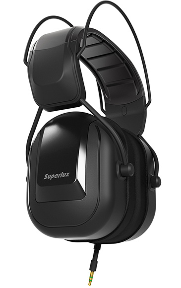 40 mm monitor headphones Superlux HD-665
