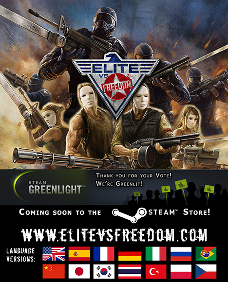 Elite vs Freedom game booklet in Steam